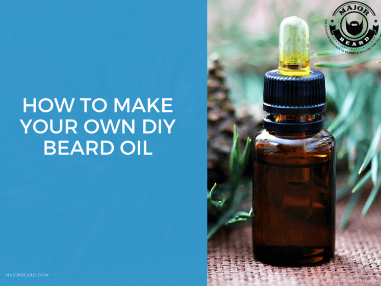 How To Make Your Own Diy Beard Oil