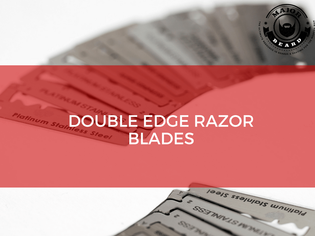 Well, you don't have to wonder anymore because Major Beard has more answers and tips about DE razor blades than you could have ever thought possible.  Double-edged razor blades are truly fantastic tools which will give you the closest, cleanest, and most painless shave imaginable, that being said they aren't the easiest thing in the world to get the hang of.