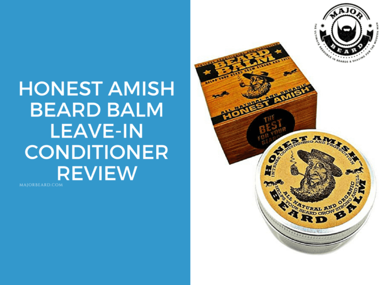 Honest Amish Beard Balm Leave-in Conditioner Review