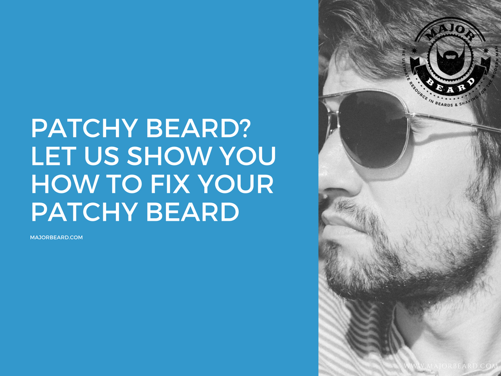 how to cure a patchy beard