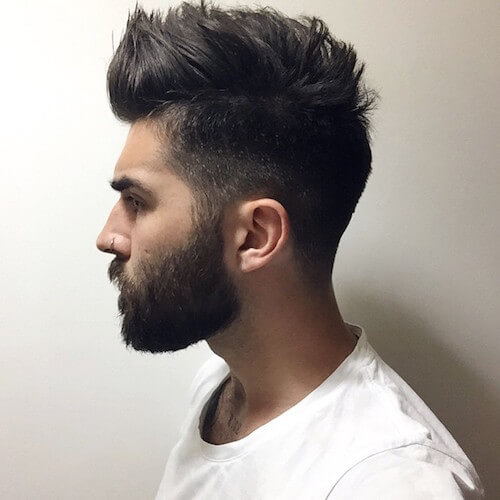 Medium Texture/Spikey Hair With Medium Beard