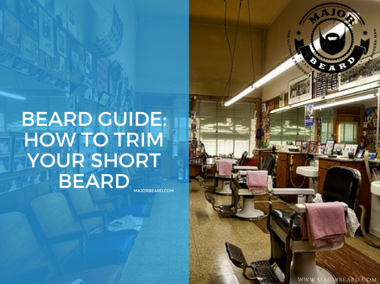 Beard Guide: How to trim your short beard