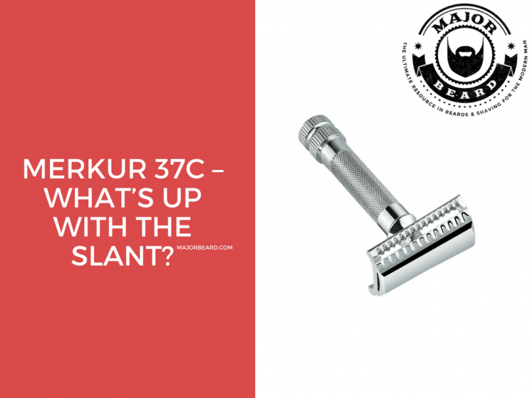 Merkur 37c – What's up with the slant?