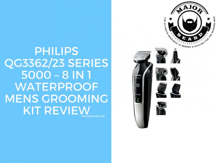 Philips QG3362/23 SERIES 5000 – 8 in 1 Waterproof Mens Grooming Kit Review
