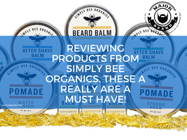 Reviewing products from Simply Bee Organics. These a really are a must have!