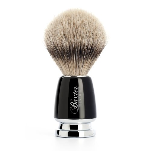 Baxter of California Silver Tip Badger Shave Brush, 1 unit