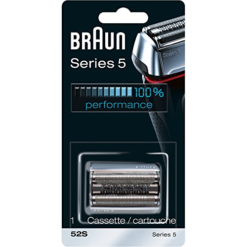 Braun Series 5 52S Electric Shaver Head Replacement Cassette – Silver