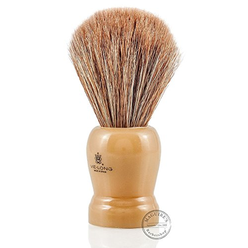 Horse Hair Shaving Brush with Cream Handle shave brush by Vie-Long