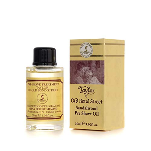 Taylor of Old Bond Street 1.06 oz / 30ml Sandalwood Pre Shave Oil