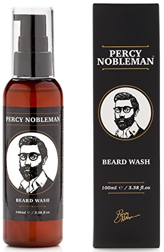 Beard Wash by Percy Nobleman A Natural Highly Organic Soap/Shampoo & Conditioner for Men