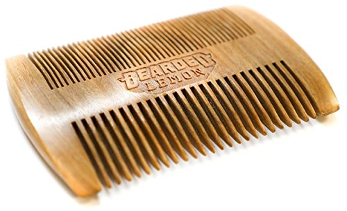 Bearded Lemon Wooden Beard Comb
