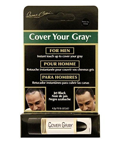 Cover Your Gray for Men Hair Color Stick - Black