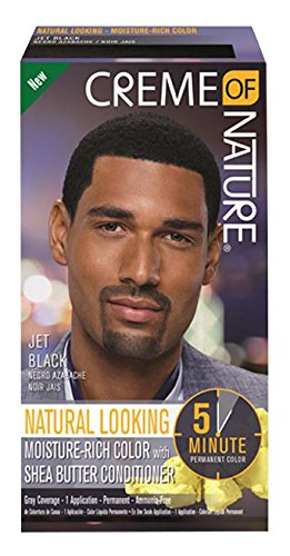 Creme of Nature Men's Haircolor, Jet Black