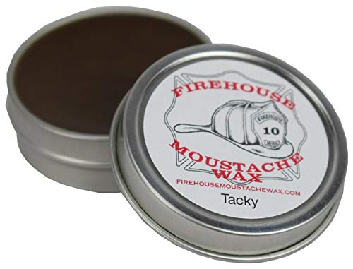 """Firehouse Moustache WAX'S Superior Hold""""Wacky Tacky"""" Wax, 1 Ounce TIN 