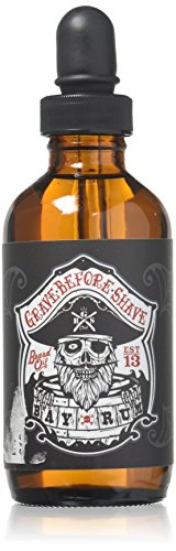 Grave Before Shave Beard Oil (Bay Rum Scent) 4 Oz. Bottle