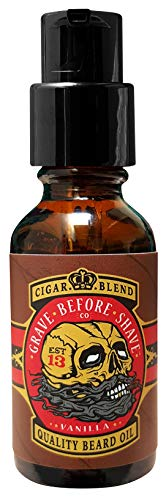 Grave Before Shave Cigar Blend Beard Oil - 1 oz