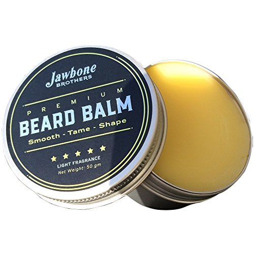 Jawbone Brother's Beard Balm with Leave in Conditioner - A Surprising Evolution in Beard Products