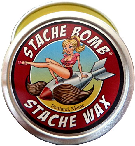 Stache Bomb Stache Wax Mustache Wax Made in Maine